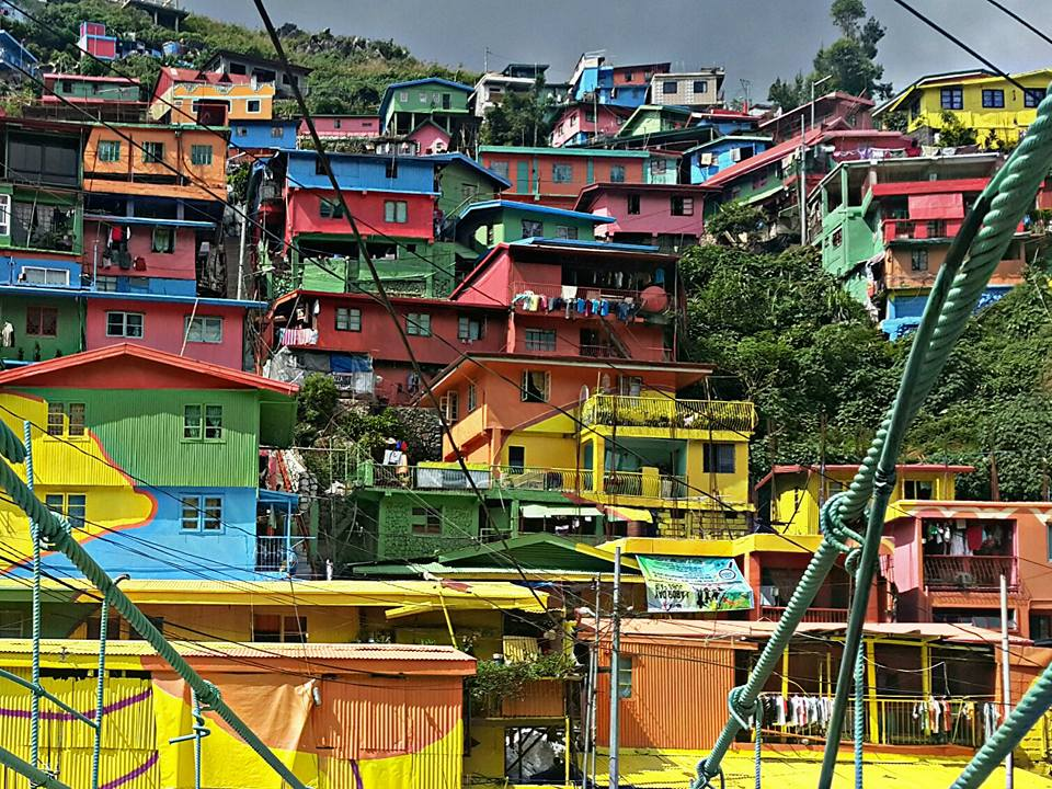 Travel tropa colorful houses in benguet for Trinidad houses