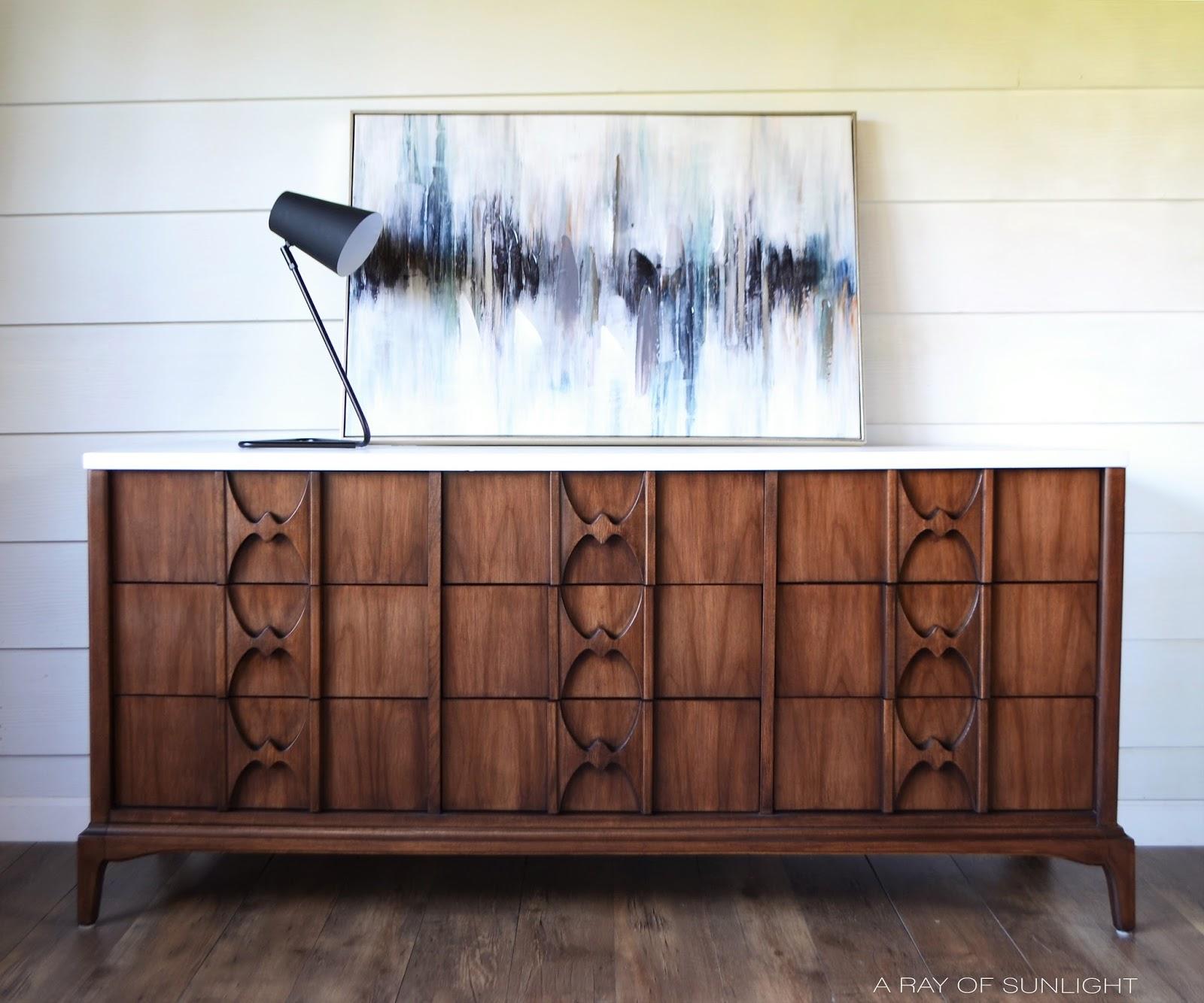 mcm 9 drawer dresser