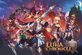 Free Download Luna Chronicles 1.1.4 Mod Apk Update (High Damage + Skill) APK  Terbaru