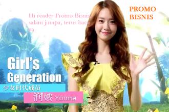 Yoona SNSD bersama Promo Bisnis