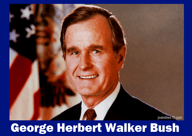 Our 41st President George H.W. Bush