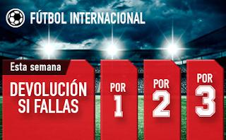 sportium Fútbol: Combinadas 'con seguro' hasta 14 abril 2019