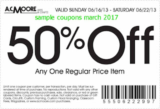 free AC Moore coupons for march 2017