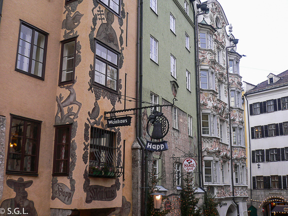 Innsbruck Altstadt, capital del Tirol