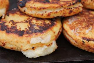 arepas de trigo, recetas caseras,cocina