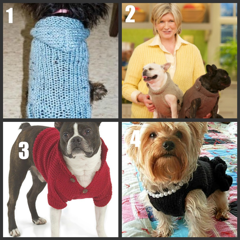 Dog Sweater To Knit Crochet Roundup Part 1