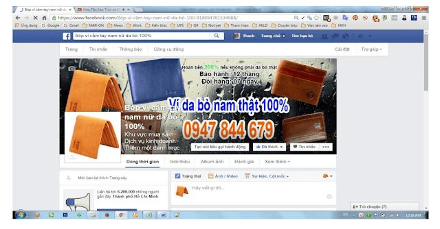 Cover hình ảnh Fanpage Facebook
