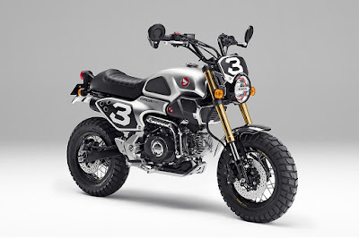 GROM50 Scrambler Motorcycle HD Wallpaper