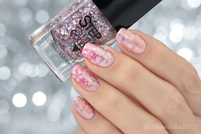 cherry blossom nails, 桜ネイル, Dance Legend step, nail art, 箪笥レジェンド ネイル