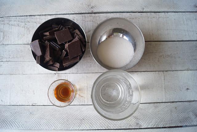 Ингредиенты для домашнего трюфеля