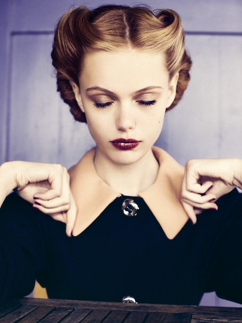 Iced Vo Vo's: 40's Glam ... Frida Gustavsson