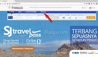 Sriwijaya Air - NAM Air Web Check-in