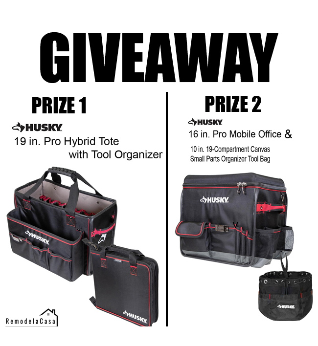 Pro Hybrid tote with tool organizer - Pro Mobile Office and small arts organizer tool bag