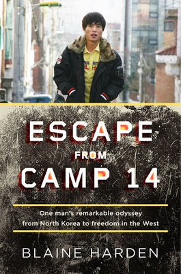 Escape from Camp 14 by Blaine Harden - book cover