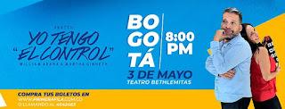 SKETCH YO TENGO EL CONTROL en Bogotá 2019