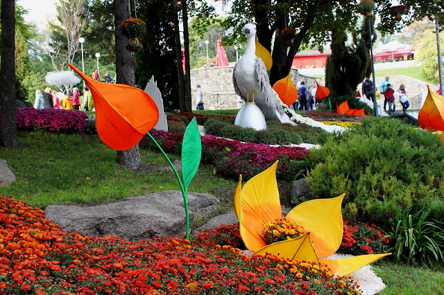 Работа цветоводов Подольского района