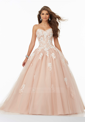 Sweet Cinderella Prom Dress