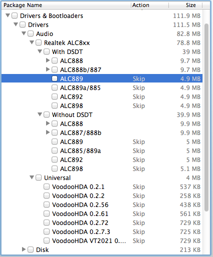 Voodoo Audio Hackintosh