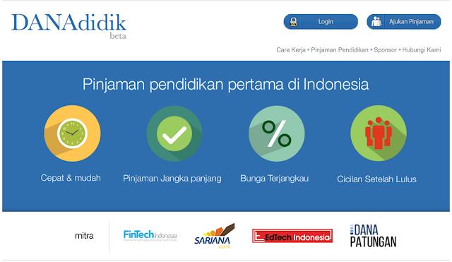 Butuh Dana Pinjaman Untuk Pendidikan? DANAdidik Solusi Untuk Pelajar Indonesia