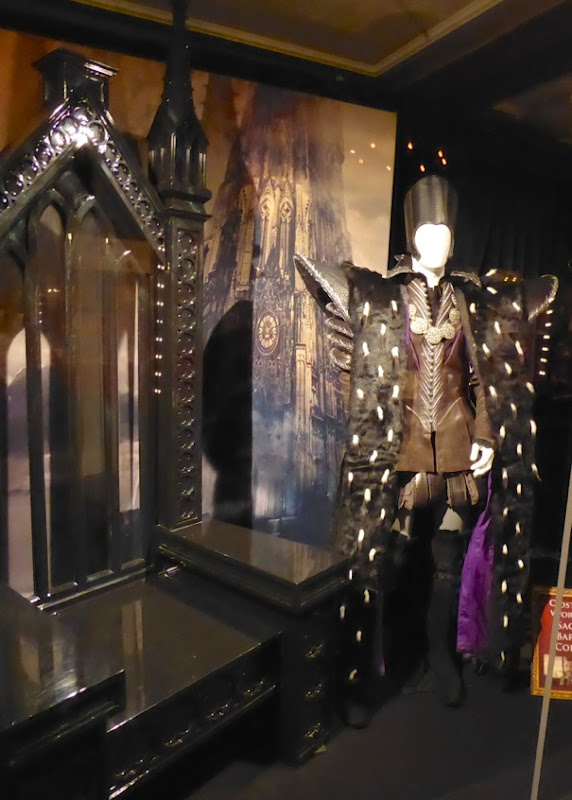 Disney Alice Through the Looking Glass Time costume exhibit