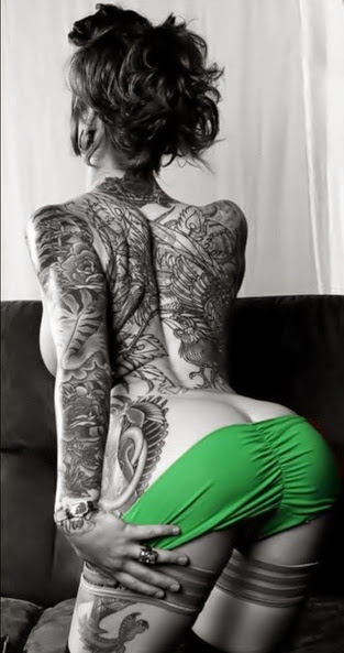 Painter Girl I just love Inked Girls and their tats Inked Girls Tattoos