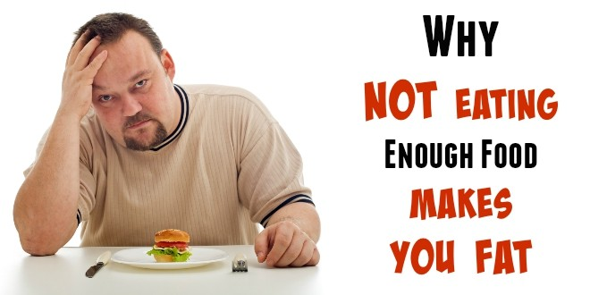 Not eating meals