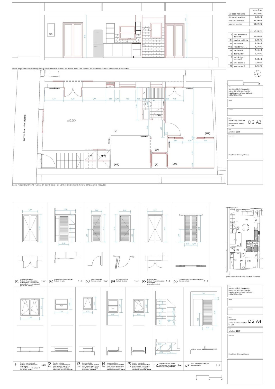 Arquitectura rosamariagal despacho de arquitectura en - Estudios de arquitectura en barcelona ...