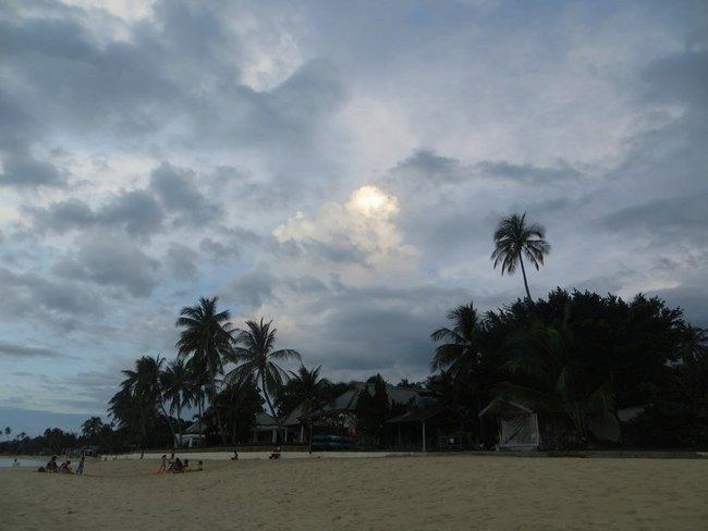 Пляж на маенаме, самуи