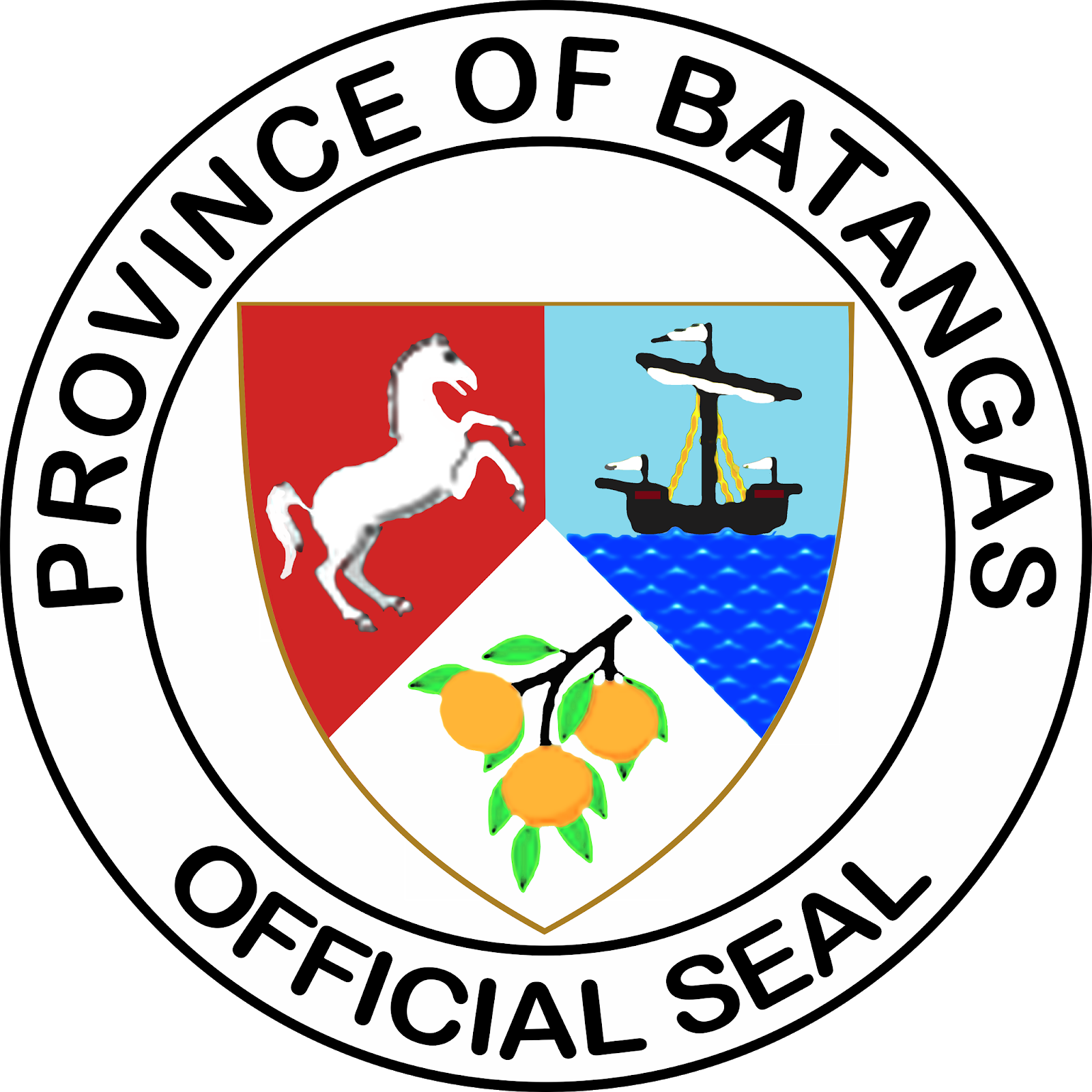 Province of Batangas Official Seal