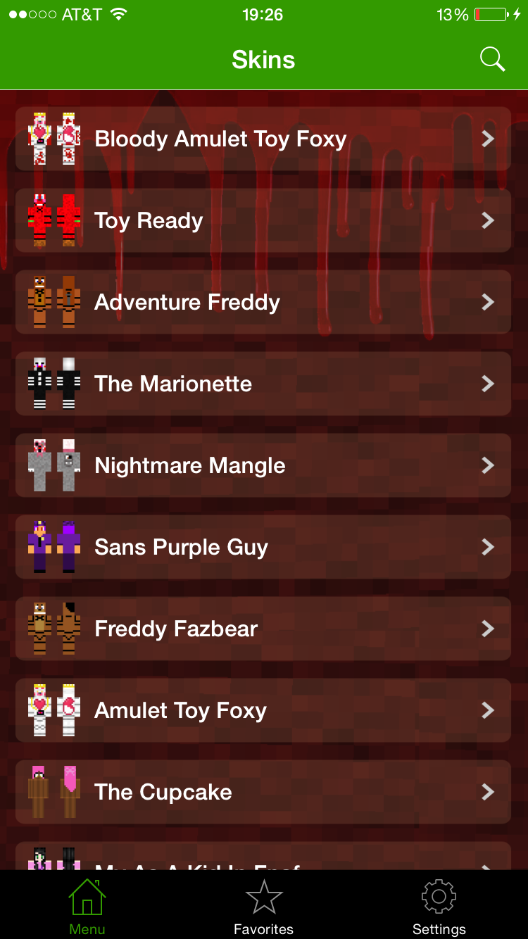 Abtmobi App Pro FNAF Skins For Minecraft Pocket Edition - Skin para minecraft pe de freddy