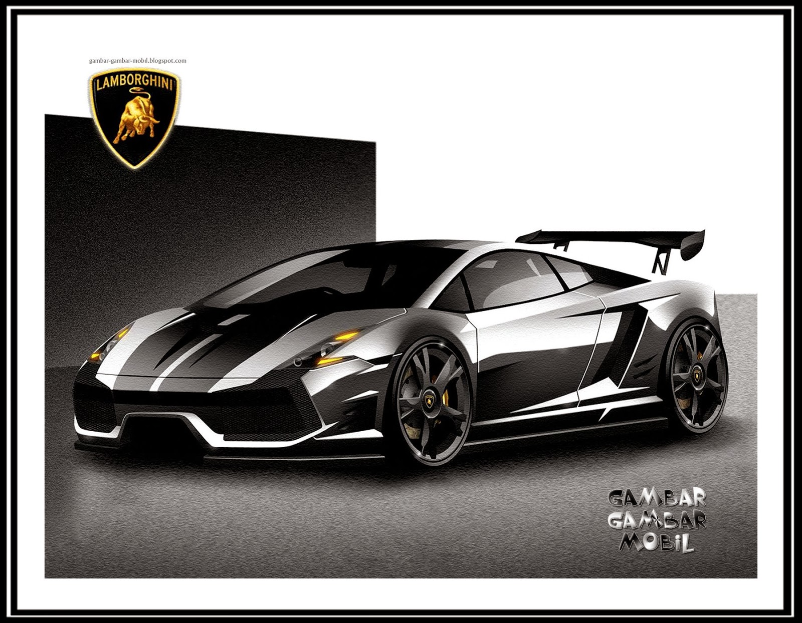 gambar mobil lamborghini gambar gambar mobil. Black Bedroom Furniture Sets. Home Design Ideas