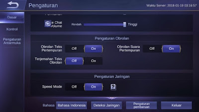 Cara Mengatasi Lag Mobile Legends 2