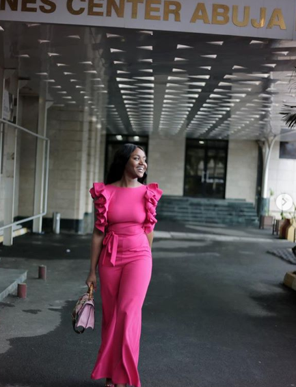 Davido's girlfriend, Chioma, clap back at people trolling her for having a belly pooch
