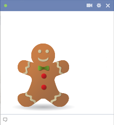 Christmas Cookie Facebook Sticker