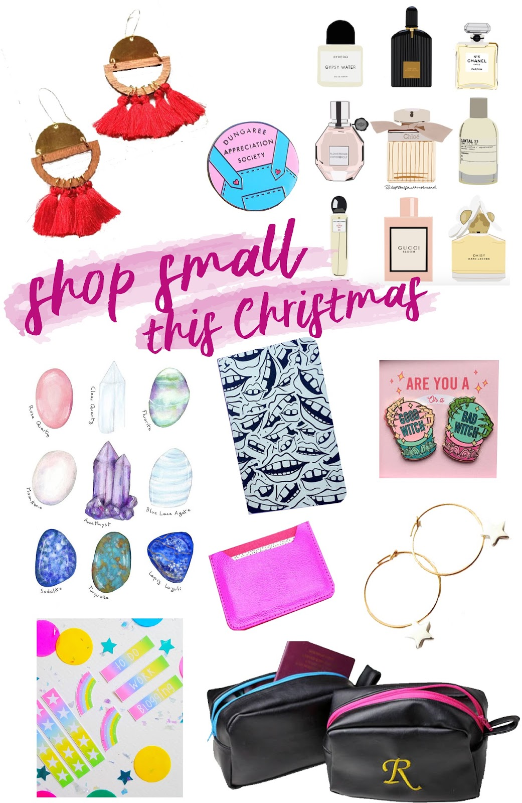 shop small Christmas gift guide 2017