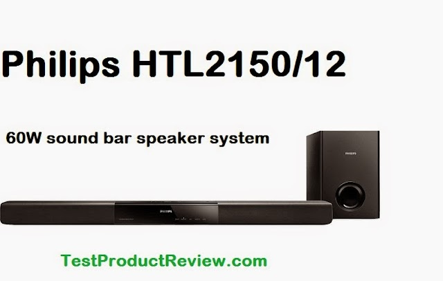 Philips HTL2150/12 60W sound bar speaker system specs