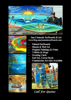 Custom Surfboards and art all shapes and sizes by Paul Carter