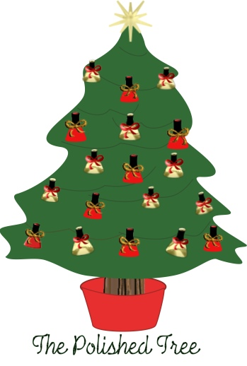 Nail Polish Christmas Tree