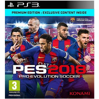 PES 2018 PS3 New Patch Season 2017/2018