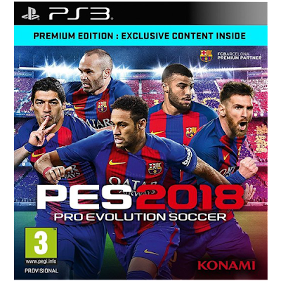 PES 2018 PS3 New Patch Season 2017/2018
