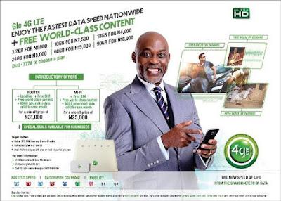 Glo 4GLTE launches in Nigeria