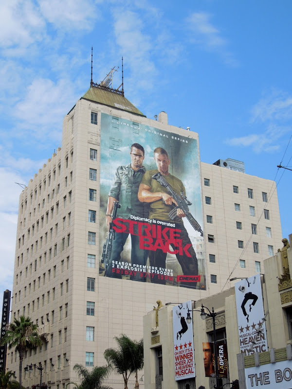 Giant Strike Back season 2 billboard Hollywood