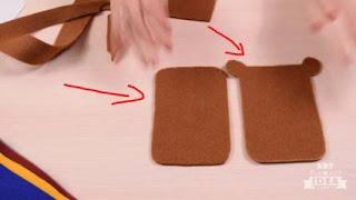 cara membuat tempat hp dari kain flanel yang mudah
