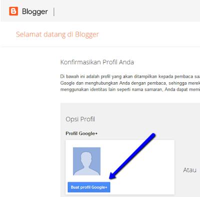 Cara membuat blog gratis di google