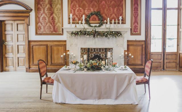 Hacienda Nadales - editorial boda de invierno