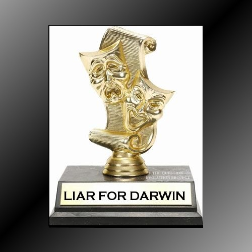 Lying for Darwin because the truth does not work