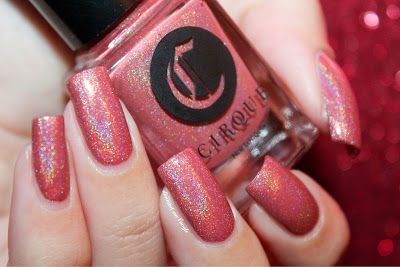 "Swatch of the nail polish ""Luminous Owl"" from Cirque Colors"