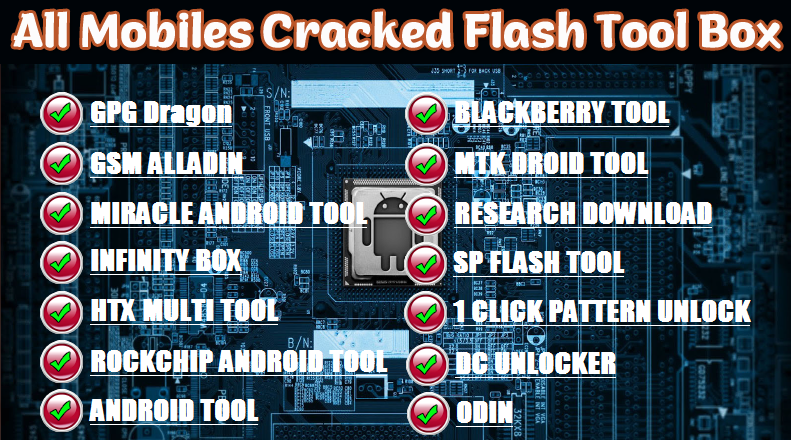 All Mobiles Flash Tool Cracked Version FREE Download - All
