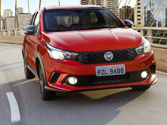 Fiat Argo - inspiração no Mobi