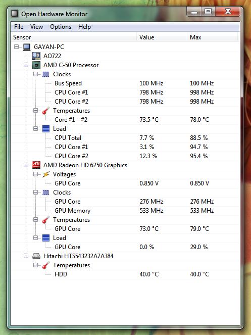 Free Cross-Platform Hardware Monitor: